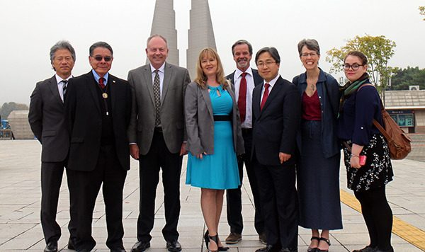 United Church of Canada delegation in South Korea