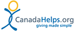 CanadaHelps giving made simple logo
