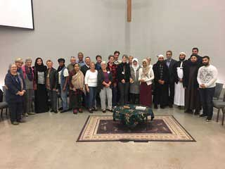 The four-week study, The Jesus Fatwah, was held at Crossroads United Church in Fall 2017