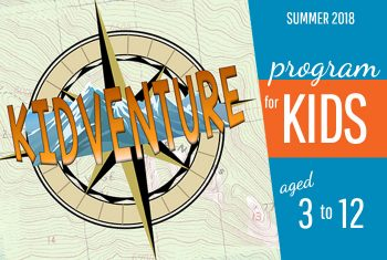 Kidventure 2018 summer camp at Crossroads United Church
