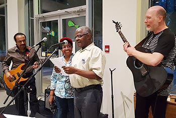 re•sound: an intercultural and interfaith open mic event