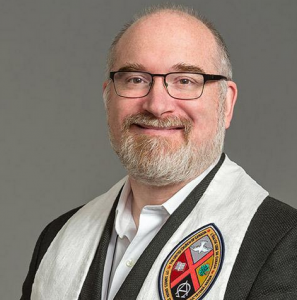 'I am the epitome of privilege,' confessed the new United Church of Canada moderator, Vancouver Rev. Richard Bott. (Photo: UCC)