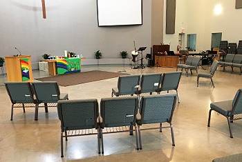 Worship in Person